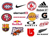 Companies affiliated with sports