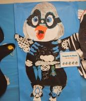 Penguin in Black