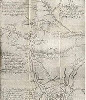 Old Map of New Bern