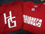 Trojan Shirts on Sale in Attendance