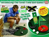 Golf para baños.