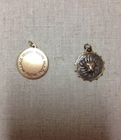 BRONZE MOM CHARM $15 AND LEO ZODIAC CHARM $20