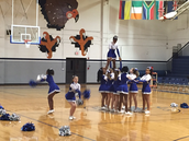 Check out our amazing cheerleaders!  Way to go girls!
