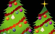 Hermosos arbolitos navideños