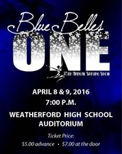 Blue Belles 35th Anniversary Spring Show