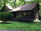The cabin they lived in