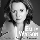 Emily Watson, Donostia Zinemaldiako 63. edizioko Donostia Saria