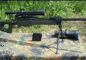 Military Gun: Sniper rifle