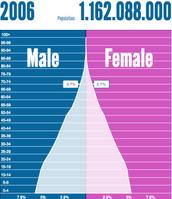 Population Pyramid 2006