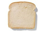 One slice of bread = One ounce of grain