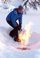 Methane in Siberian Lakes