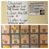 Love this idea from Ms. Lynch! Creative & interactive!