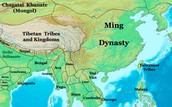 Map of Ming dynasty