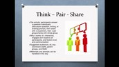 "Instructional Strategy - Formative Assessment : ""Think Pair Share My Partner's Thoughts"""