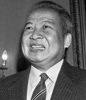 Over throw of Prince Sihanouk