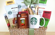 Starbucks Evergreen Basket