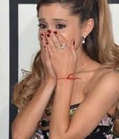 Ariana Grande excepting billlboard awards
