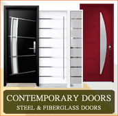 Beautifully crafted, energy efficient, secure, and easy to maintain fiberglass doors