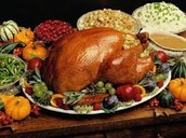 Thanksgiving Lunch- Monday, November 23rd.