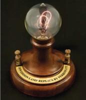 The electric light bulb
