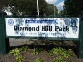 Third Fun Ride:  DIamond Hill Park