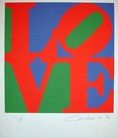 Love, 1965, Paper Silk Screen