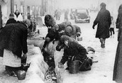 The blockade of Leningrad