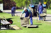 Cleaners & Grounds Maintenance