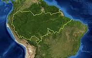 Map of the Amazon Rain Forest