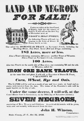 A imported slave society