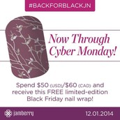 FREE Cyber Monday Wrap with any $50 purchase