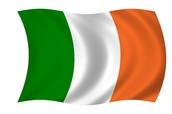 The Ireland flag