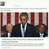Disappointing President