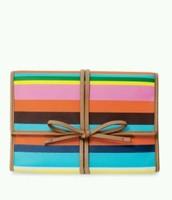 Striped Jewelry roll