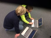 Working together to code!