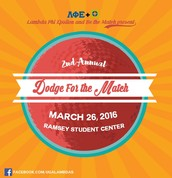 Dodge For The Match: 2nd Annual Dodgeball Tournament