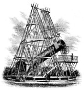 Herschel's Huge Telescope