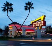 Places to eat in California.