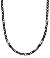 Hematite Link Necklace