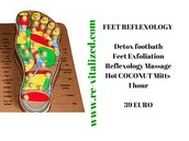 FEET REFLEXOLOGY with DETOX PACK