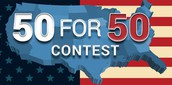 PBS Learning 50 for 50 Contest 6th-12th Grade