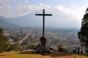 Yo viajé a Antigua Guatemala.