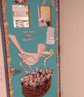 Seuss Door decorating in 2nd grade