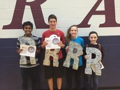 RMS Student Excellence Award Winners