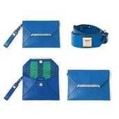 Avalon Bracelet Clutch - Bright Cobalt