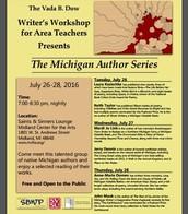 Michigan Author Series