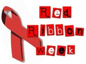 Red Ribbon Week Spirit Theme Dress Days