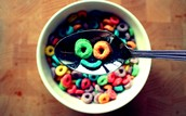 Fruit Loops will make your day happy.