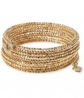 Bardot Spiral Bracelet in Gold