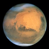 Mars From The Hubble Telescope